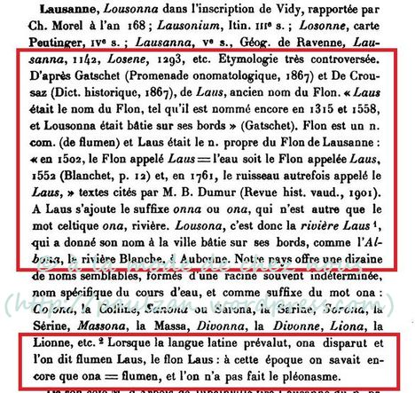 Henri Jaccard, Essai de toponymie origine des noms de lieux habités et des lieux dits de la Suisse romande