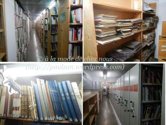 Les entrailles de la Bibliothèque cantonale et universitaire de Lausanne_7 mars 2015